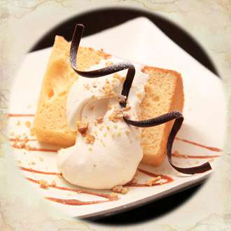 バターミルクシフォンケーキ