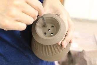 珈琲ドリッパー マグカップ 陶器 益子焼き オリジナル