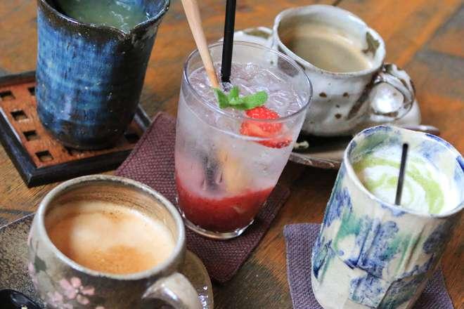かぼ茶庵 季節のドリンクいろいろ