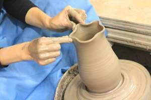 陶器 ランプシェード