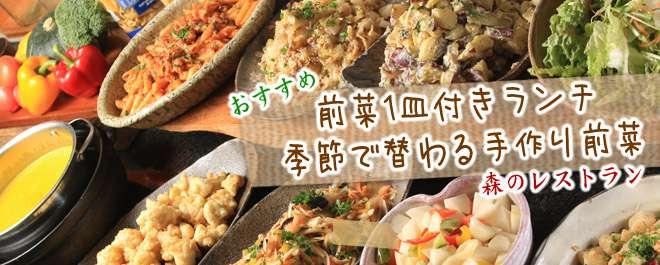 季節の前菜1皿付きランチ