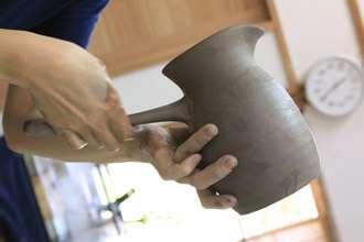 オリジナル焼酎カップ 大きい 益子焼き 陶器 渋い