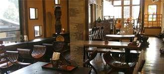 カフェ益子の茶屋 店内