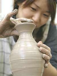 陶芸体験 益子焼きのとっくりにチャレンジ