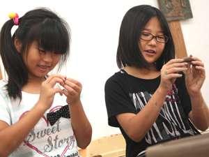益子焼き体験 陶芸体験  手びねり体験 写真 子供