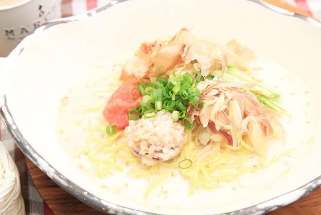 ひんやり夏の中華麺