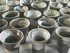 陶器 ビアカップ ビールコップ オリジナル